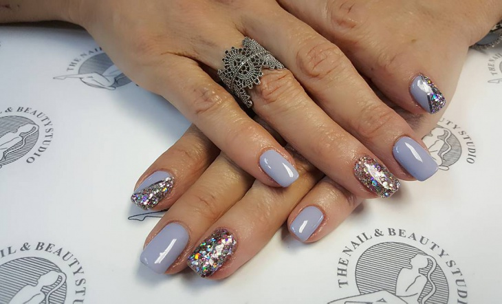 Bling Summer Nail Design