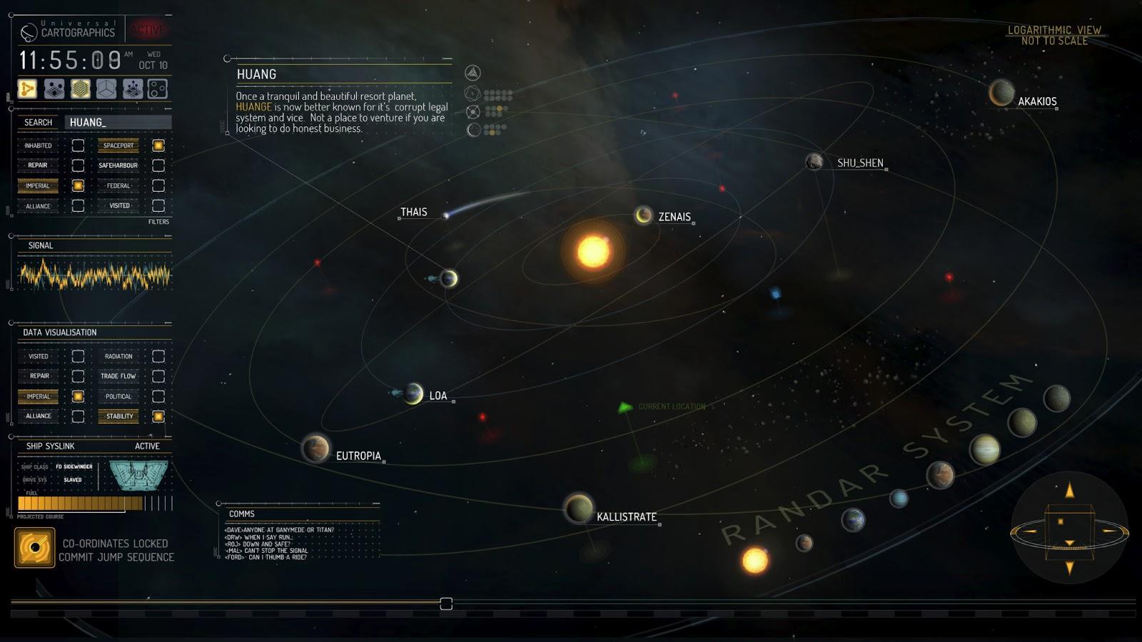 Elite 4 starmap