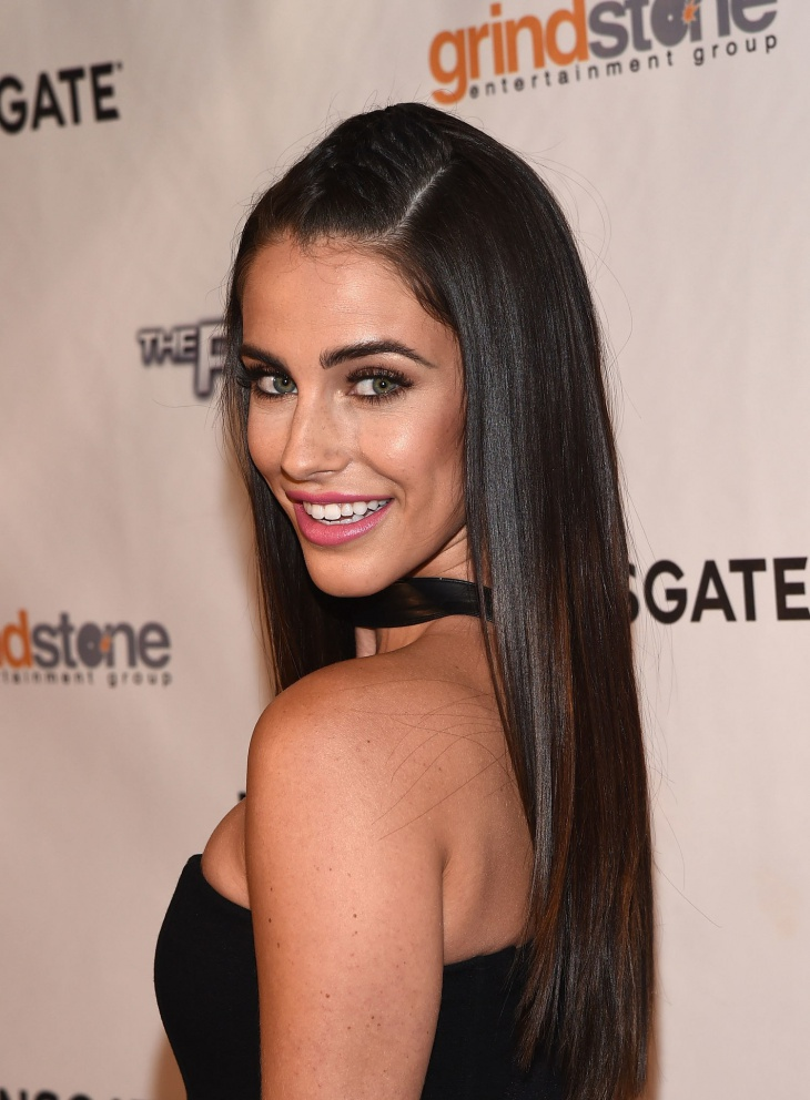 Jessica Lowndes Frauxhawk French Braid Hair