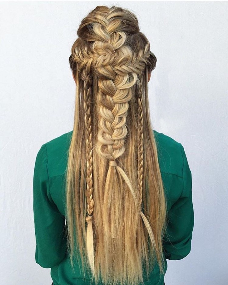 Awesome French Braid Hairstyle Design