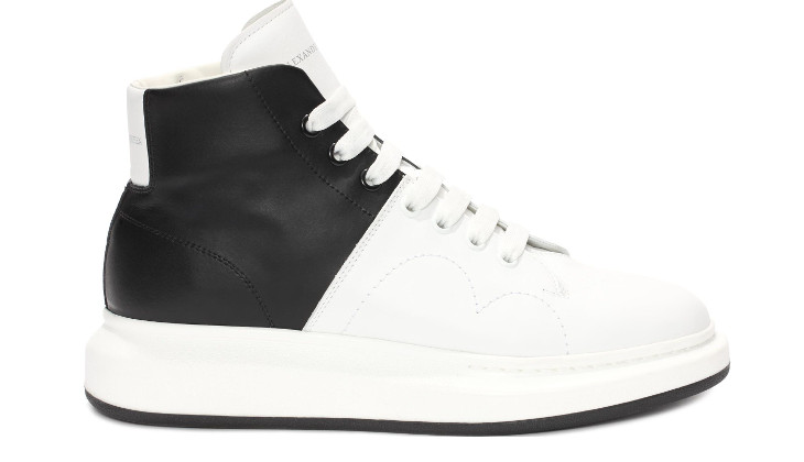 High Top Lace Up McQueen Shoe Idea