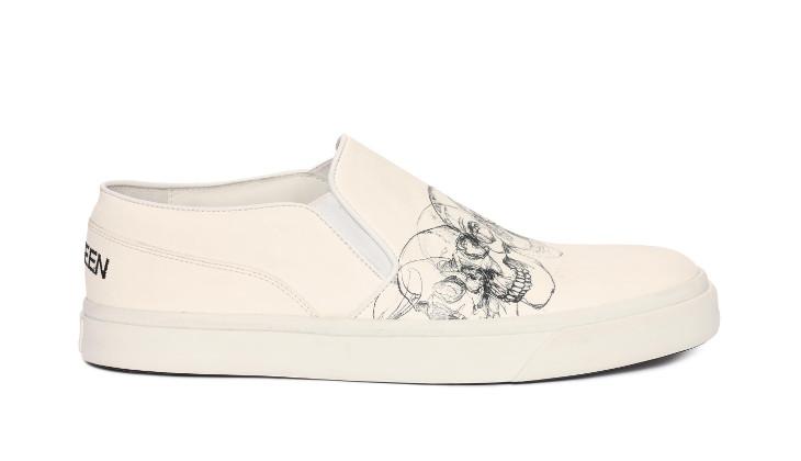 Slip On McQueen Shoe Design