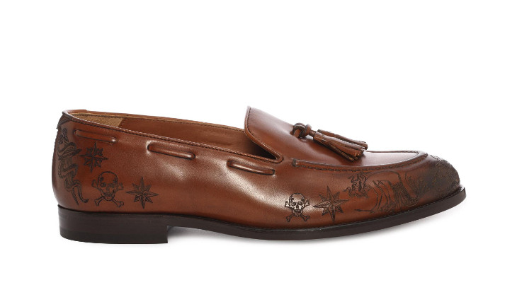 lasercut mcqueen loafer design