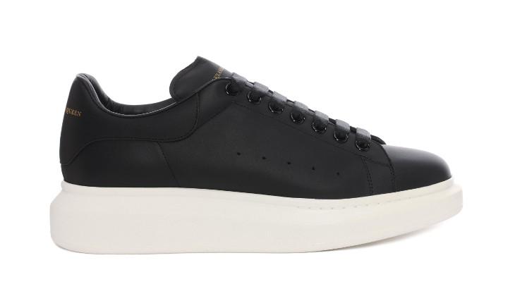 calf skin leather mcqueen shoe design