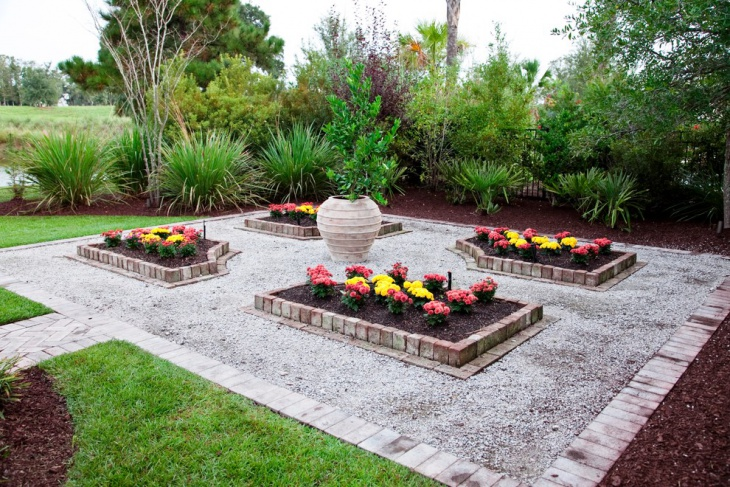 backyard formal garden design