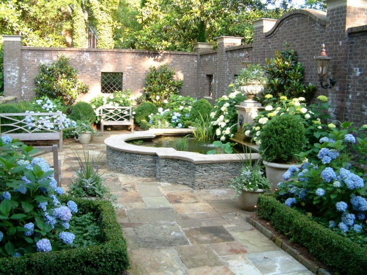 18 formal garden designs ideas design trends premium for Formal landscape design