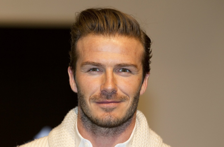 David Beckham Facial Hair Design