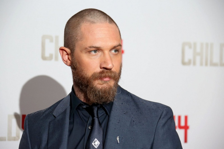 Tom Hardy Crazy Facial Hair Design