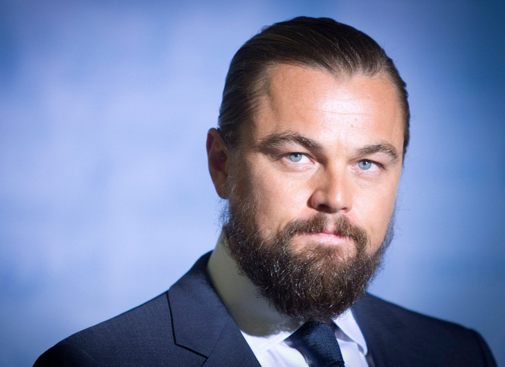Leonardo DiCaprio Facial Hair Design Idea