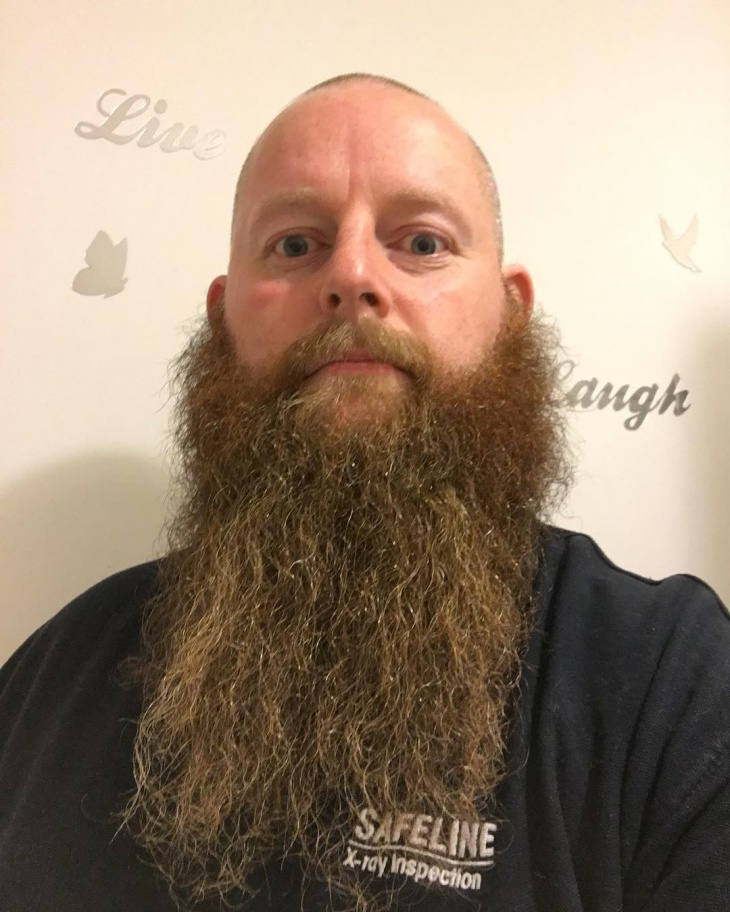Ginger Beard Facial Hair Idea
