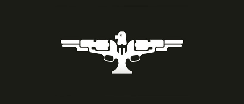 american antique firearm logo