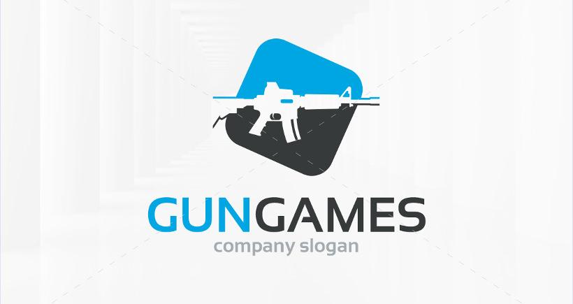 gun games logo