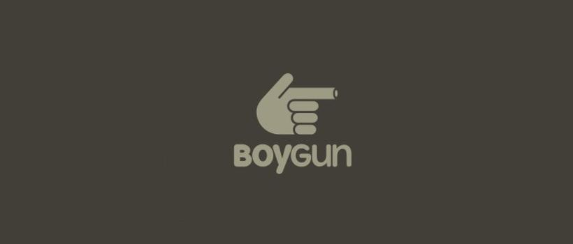 logo design boygun