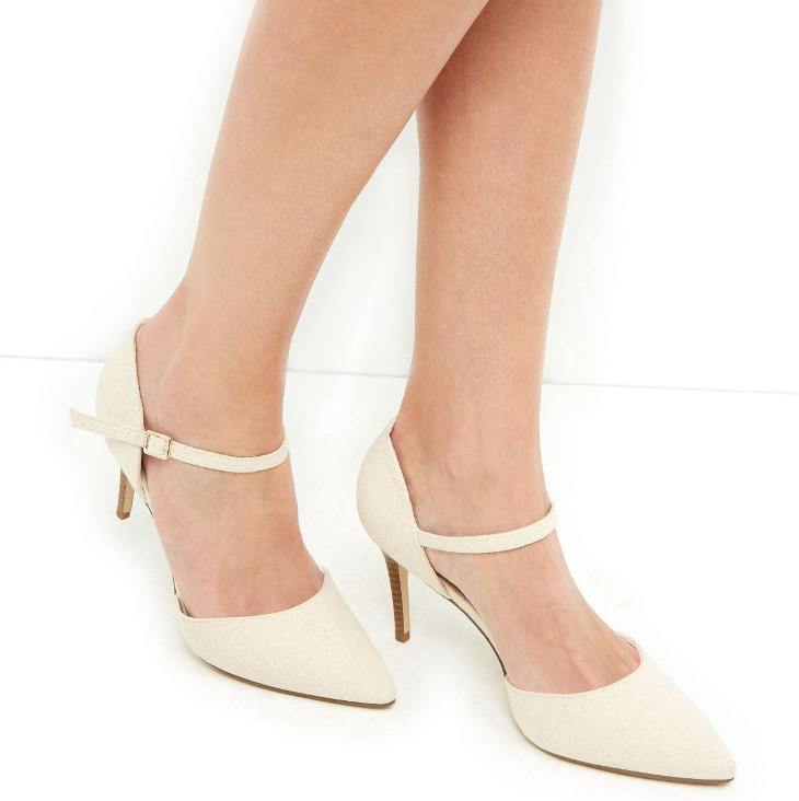 Ankle Strap Mid Heel Shoes Idea