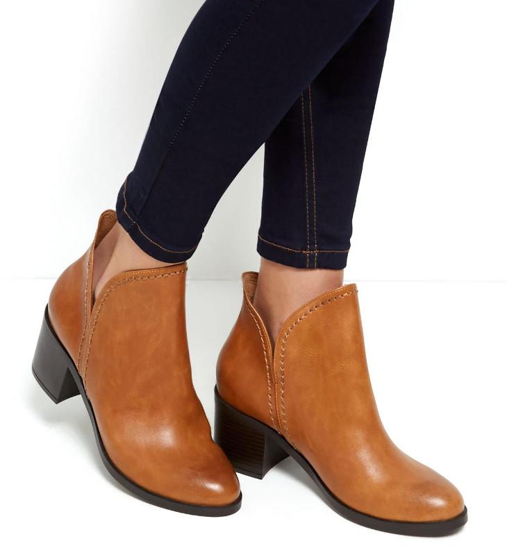 formal mid heel shoes design