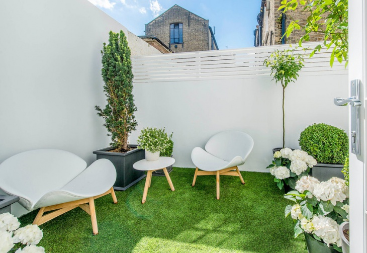 modern small patio design