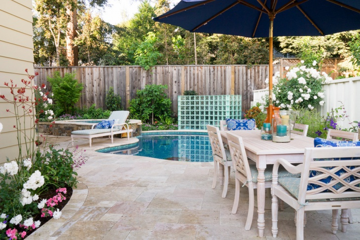 Small Patio with Pool