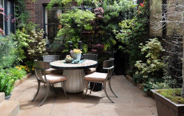 simple patio furniture design