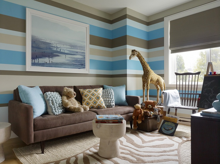 Kid's Living Room Wall Design