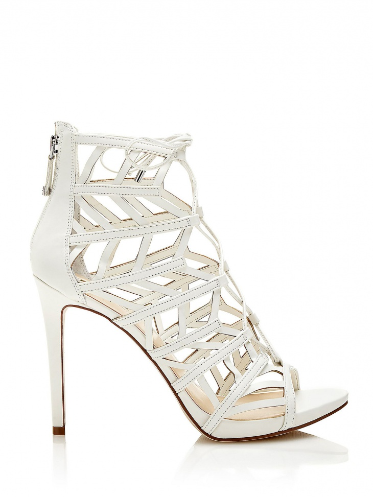 white ll guess footwear