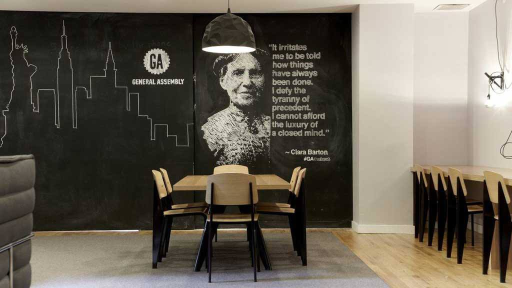 office library wall design