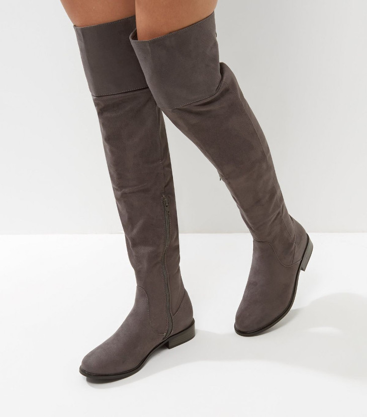 trendy knee high boots design