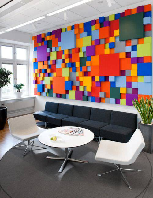 Best Office Wall Design