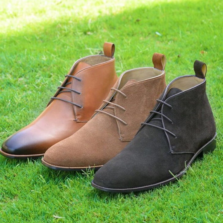 trendy suede boots idea