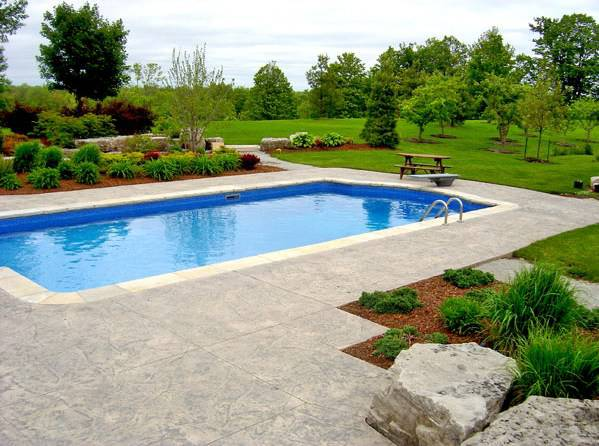 Roman Pool Landscape Design