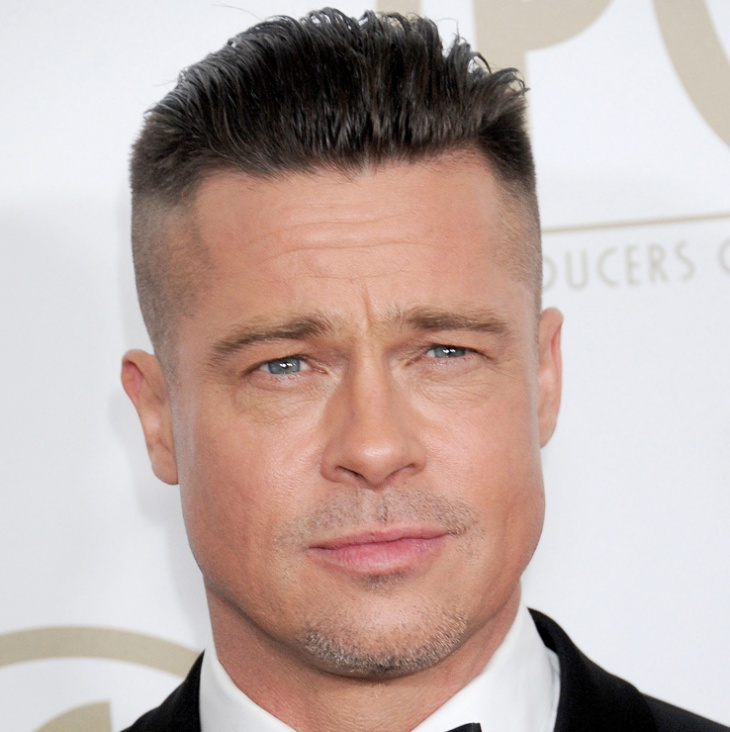 12 men side shaved haircut ideas designs hairstyles design brad pitt side shaved comb over haircut urmus Images