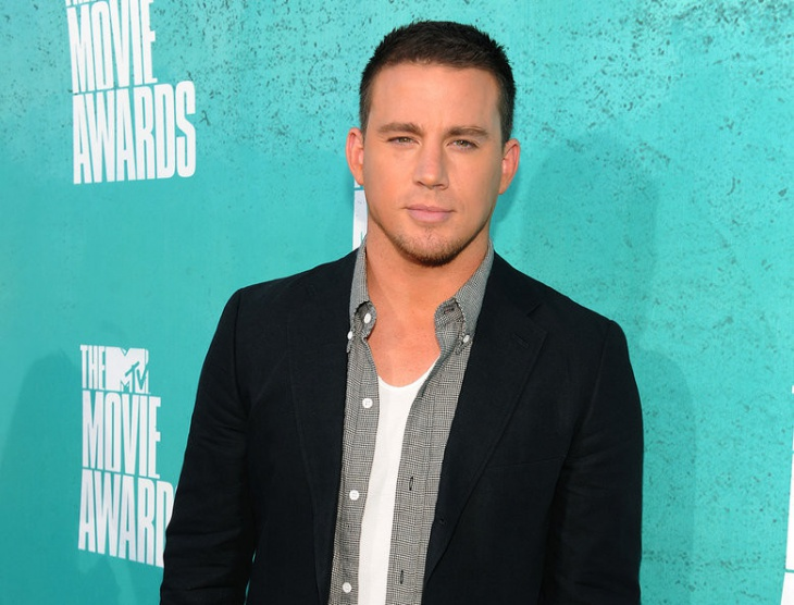 Channing Tatum Side Shaved Hairstyle Design