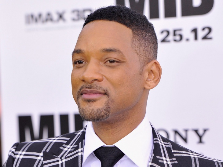 Will Smith Side Shaved Hair Design for Black Men