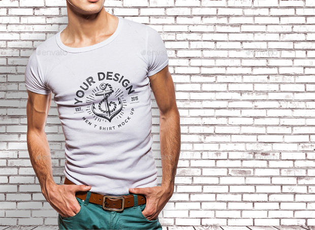 White T-shirt Mock-up Psd Download