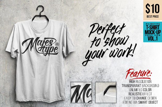 Mock-up T-shirts Psd with Transparent Background Download