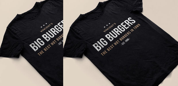 Black mock-up T-shirt Psd Download
