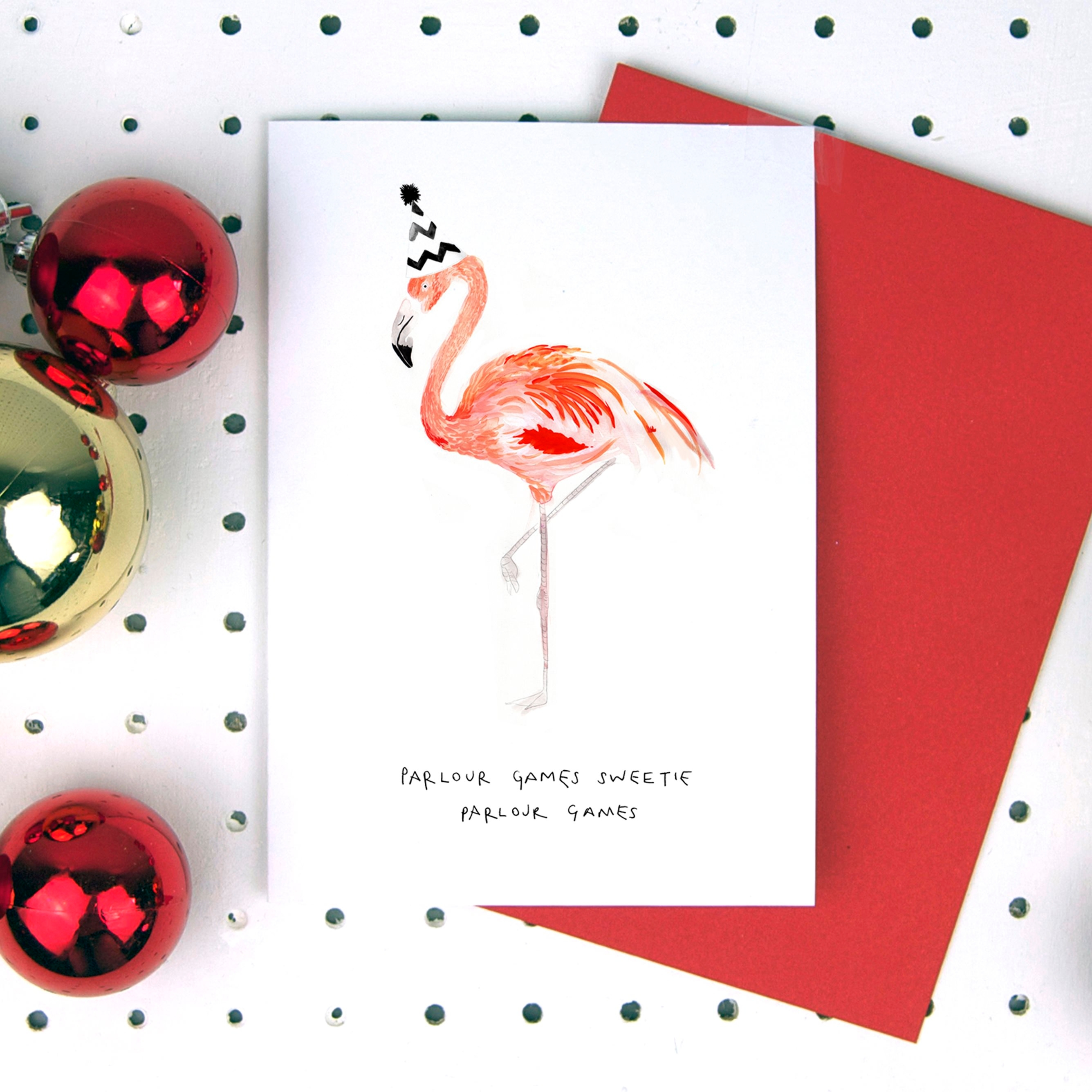 Blank_Inside__Parlour_Games_Sweetie_Flamingo_Christmas_Card__2.45__www.blankinsidedesign.co.uk