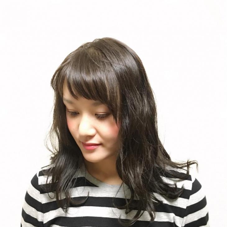 Side Bang Black Haircut Idea