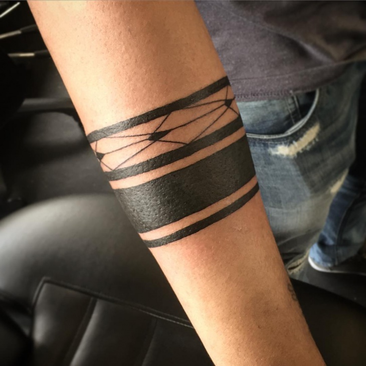 The gallery for --> Blackout Bands Tattoo