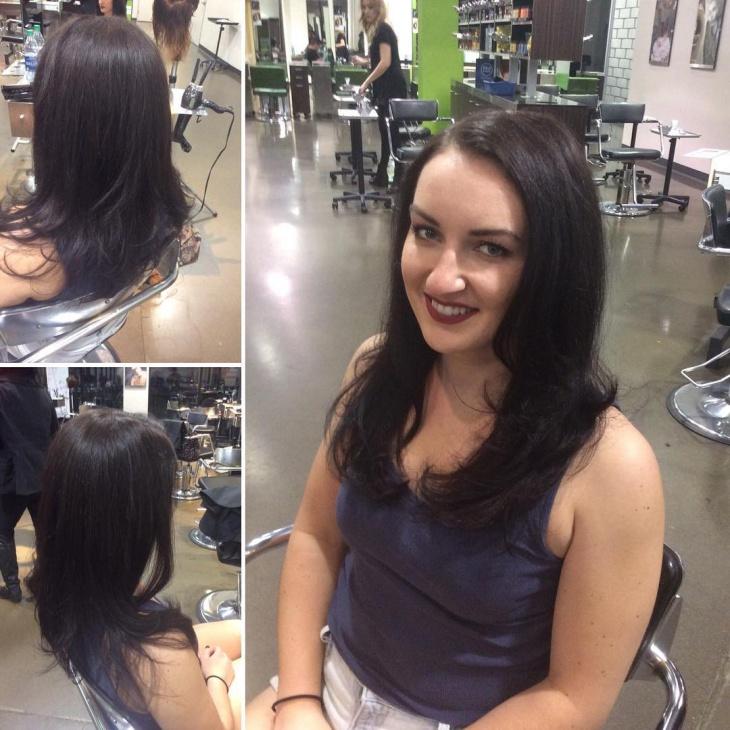 Medium Framing Layered Hairstyle Idea