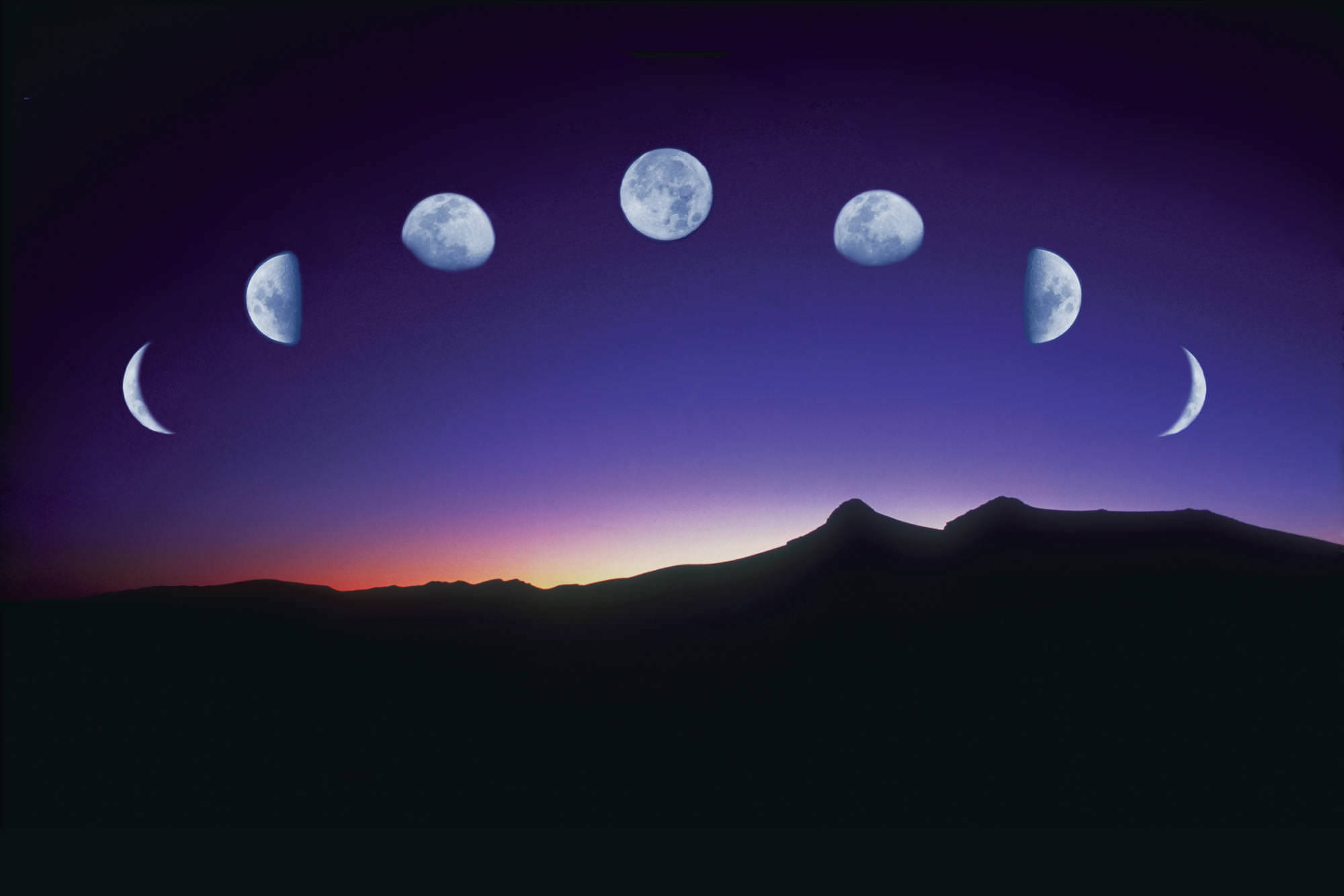 Animated Moon Background