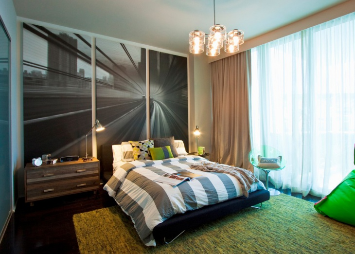 Classy Bed Room Wall Painting