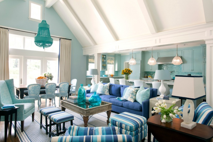 20 Blue Living Room Designs Decorating Ideas Design