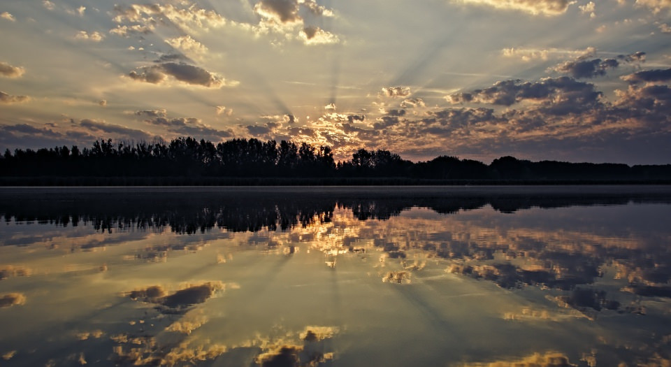 sky reflection background22