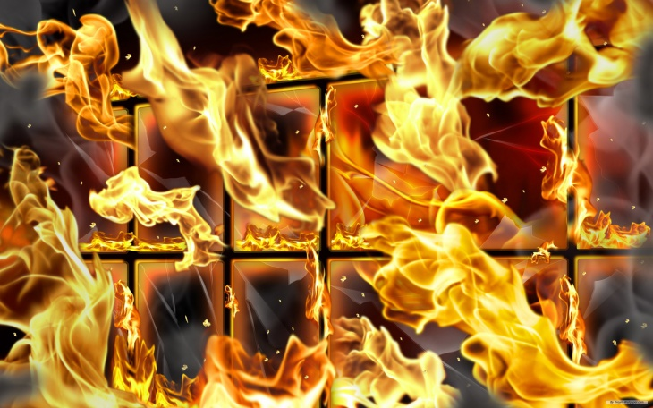 Amazing Fire Wallpaper for PC