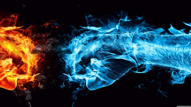 Creative Fire Background Image