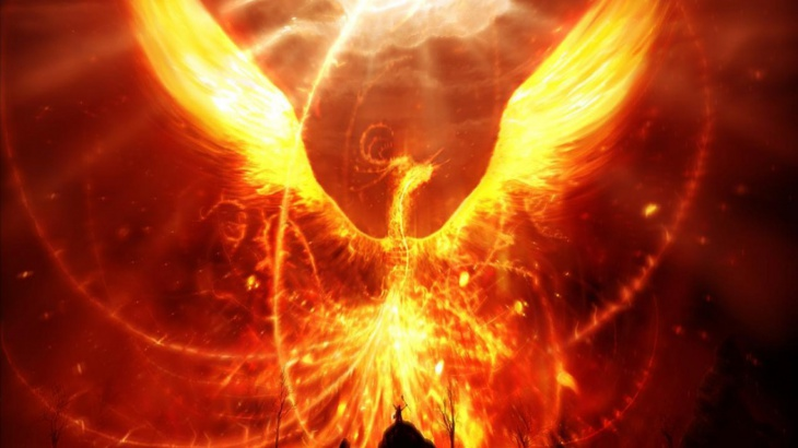 Fire Bird Wallpaper for Android Mobiles