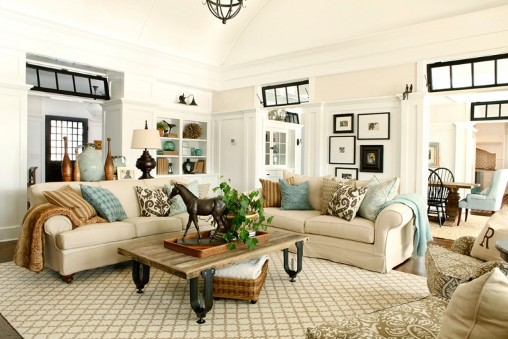 20+ Neutral Living Room Designs, Decorating Ideas | Design ...