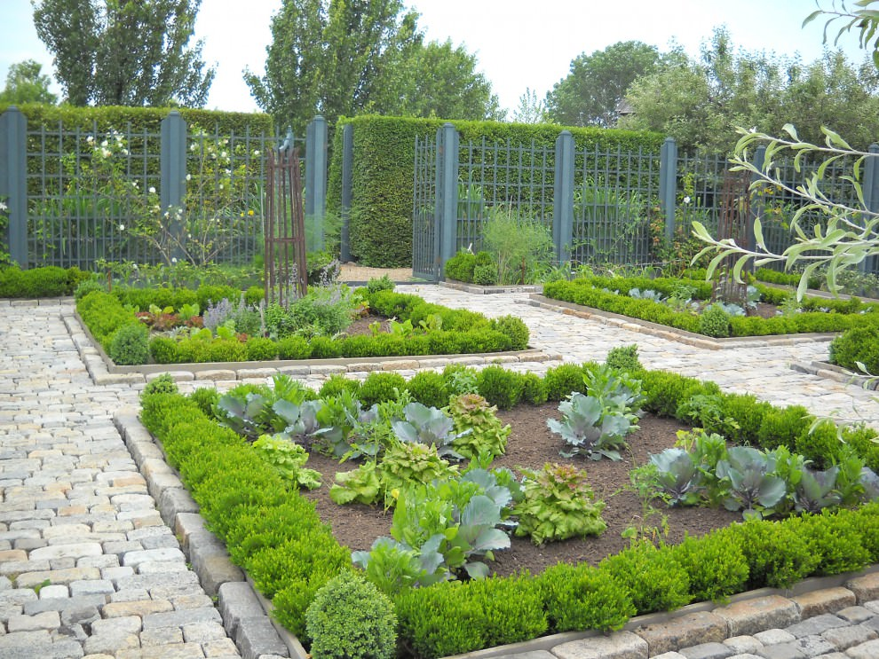 herb and vegetable garden design