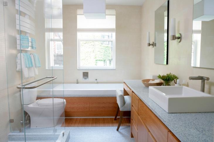 designer bathroom makeover