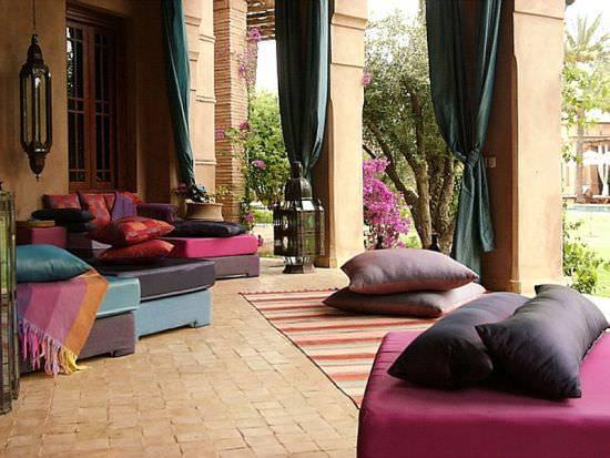 18 Moroccan Patio Design Decorating Ideas Design